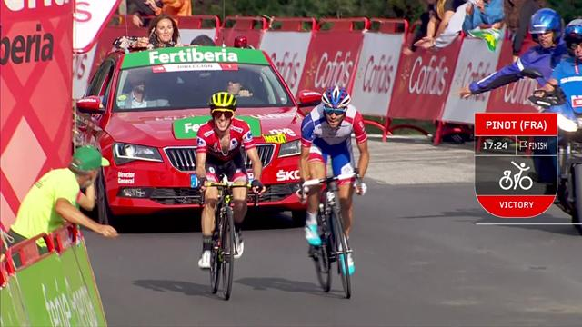 Stage 19 Key Moments - Pinot claims his second stage of La Vuelta