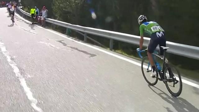 Schlüsselmomente 19. Etappe: Valverde quält sich, Yates kontrolliert das Feld
