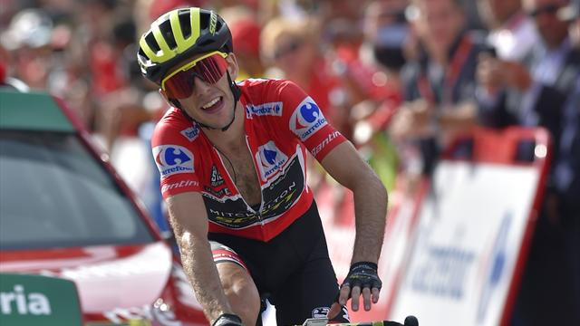 Yates tightens grip on red jersey as Pinot takes Stage 19
