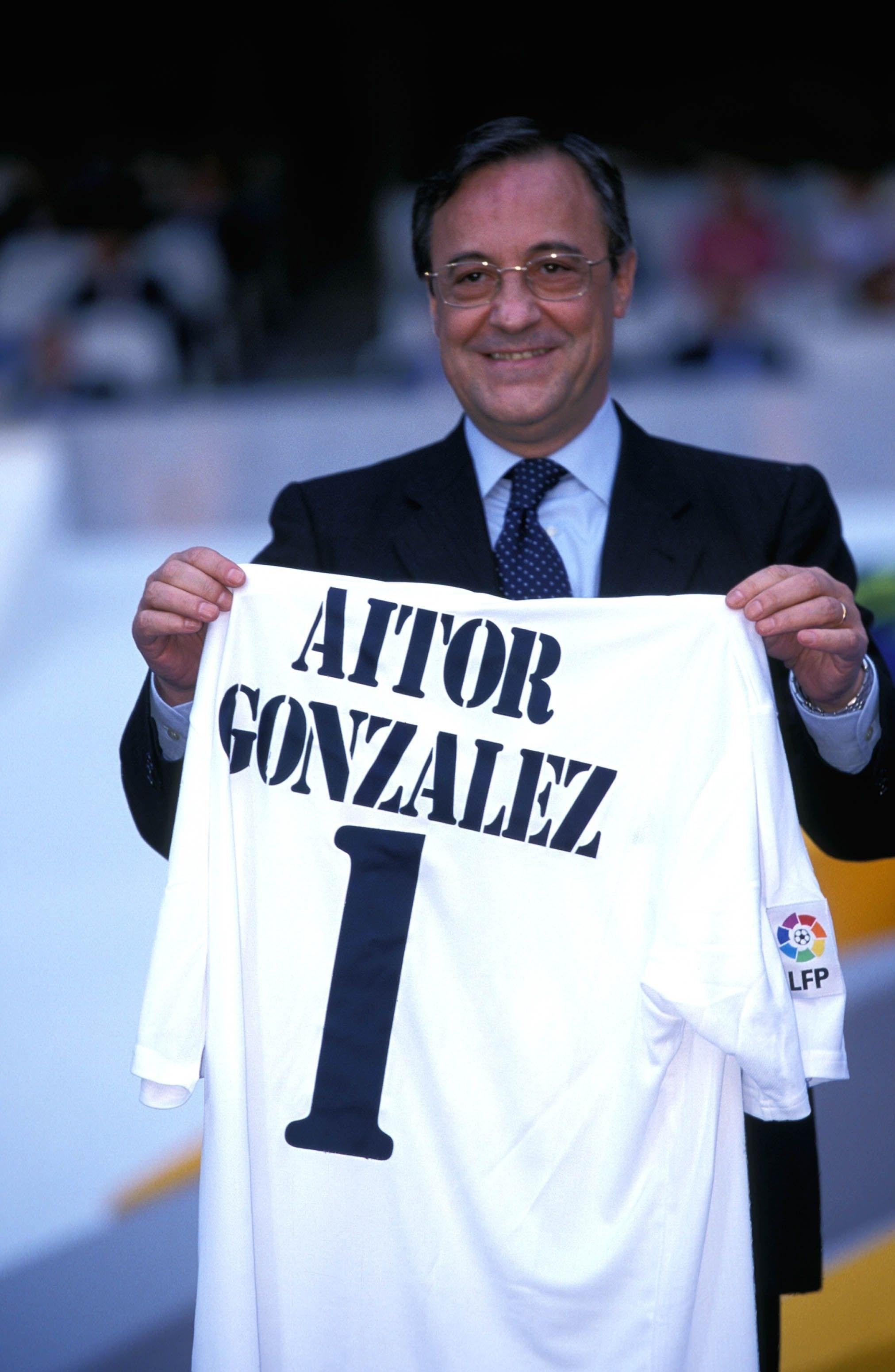 Camiseta de Aitor González, Vuelta España 2002 Bernabéu