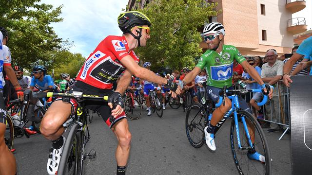 Stage 19 highlights: Yates tightens hold on red as Valverde falters