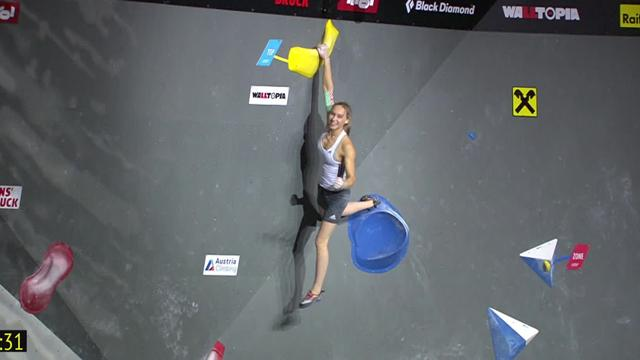 Janja Garnbret claims Bouldering gold at World Championships