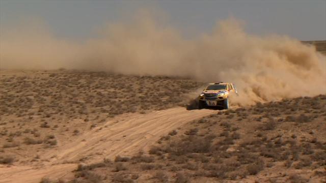 Turkmen Desert Race - The image of the day