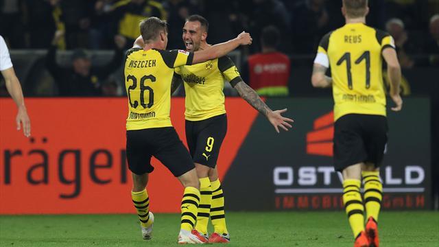 Sieg gegen Frankfurt: BVB erobert Tabellenführung