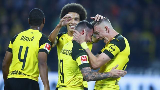 Dortmund vient à bout d'un coriace Francfort (et de Trapp)
