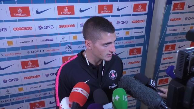 Verratti : ''Je regrette mon carton rouge face à Madrid''
