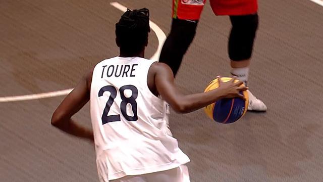 Euro 3x3 : Mamignan Touré fait le show