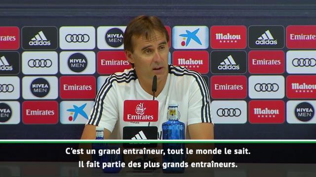 """Lopetegui : """"Le retour de Zidane ? Une bonne nouvelle"""""""