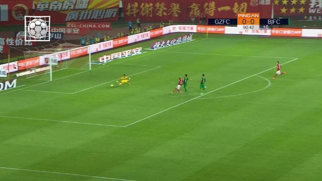 Chine - Talisca offre la victoire au Guangzhou Evergrande