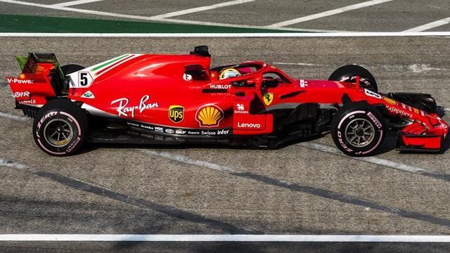 Ferrari a une belle marge sur Mercedes avant la qualification