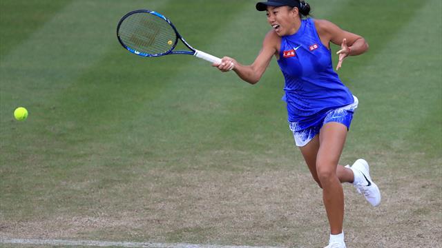 Amanda Anisimova stuns Zhang Shuai to reach Japan Women's Open final