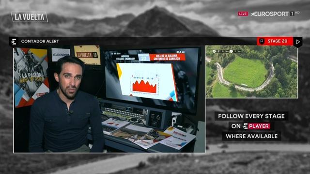 La Vuelta 2018: Contador analiza la durísima etapa de Andorra y cómo puede ganar Valverde