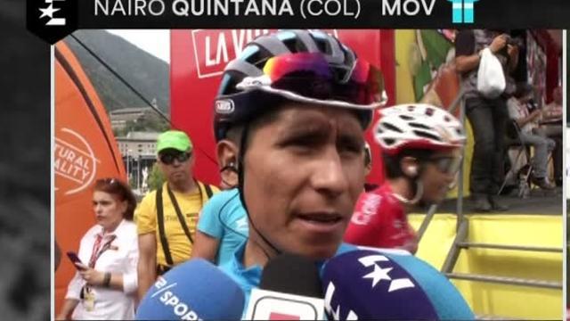 """Quintana: """"Lavoriamo per Valverde, vedremo come si evolverà la tappa"""""""