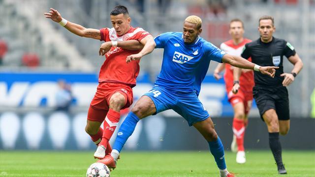 Erster Heimsieg! Fortuna Düsseldorf ringt Hoffenheim nieder