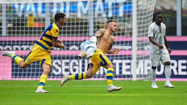 Una prodezza dell'ex Dimarco ammutolisce San Siro: Inter-Parma 0-1!