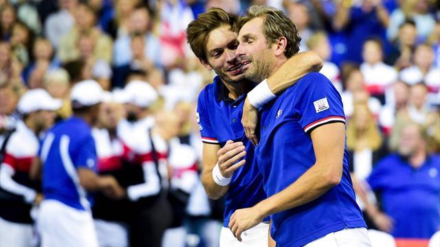 Davis Cup: Frankreich erster Finalist - USA verkürzt