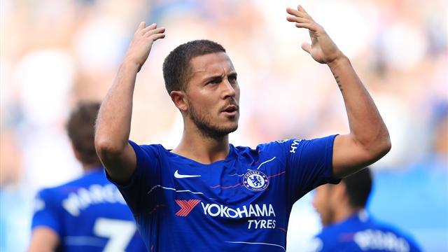 """Chelsea, il """"Sarri-ball"""" ha il volto di Hazard: tripletta del belga nel 4-1 al Cardiff City"""
