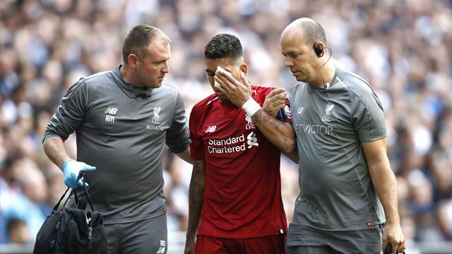 Liverpool atmet auf: So geht es Firmino nach Finger im Auge