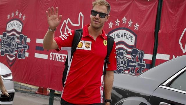 Vettel confirma el dominio de Ferrari en el último libre de Marina Bay