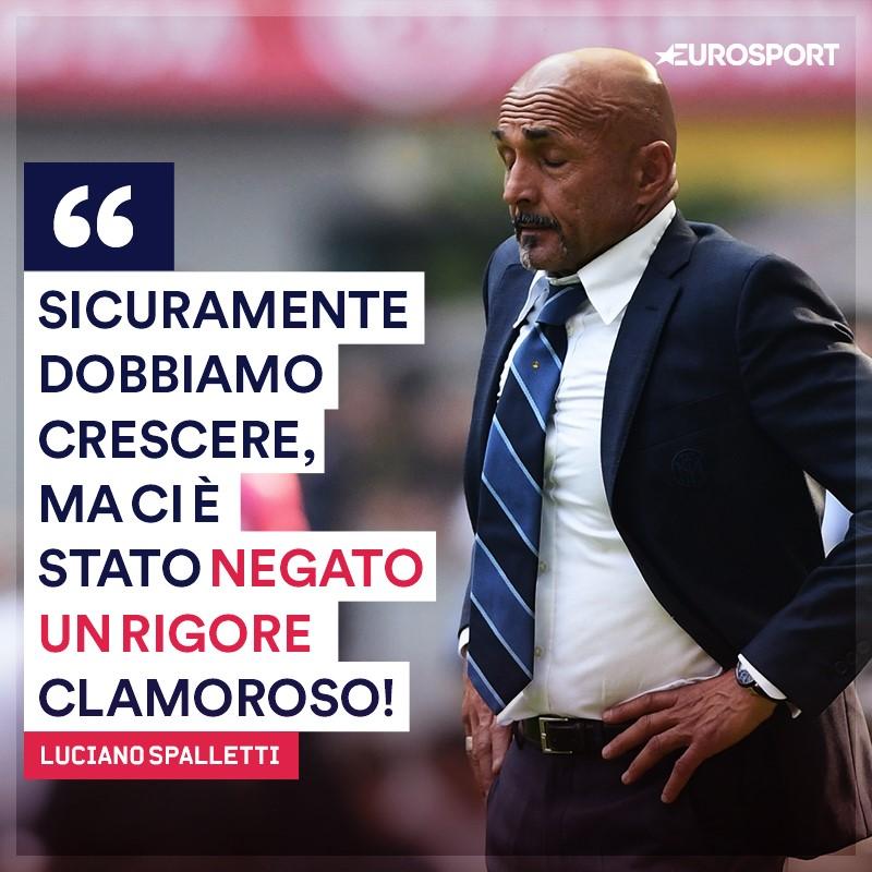 La rabbia di Luciano Spalletti dopo Inter-Parma
