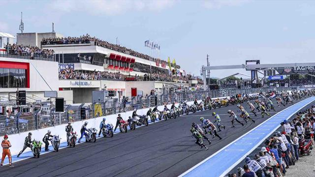 Multiple duels at the Bol d'Or