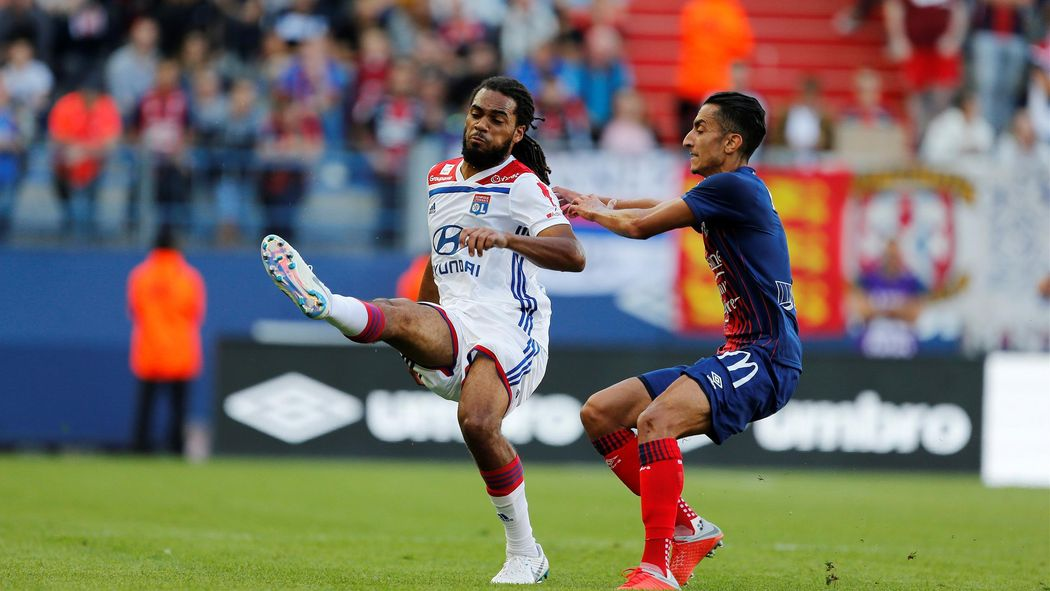 Image result for caen 2-2 lyon