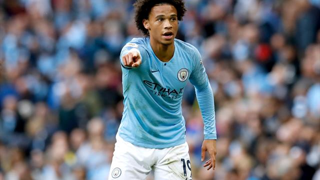 Leroy Sane seizes centre stage as champions City beat Fulham