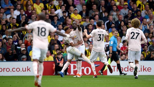 Il Manchester United soffre ma ha ragione del Watford: 2-1 per i Red Devils al Vicarage Road