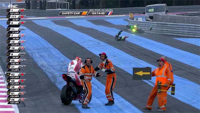 Bol d'Or 24 Hours - Carnage as numerous crashes interrupt race