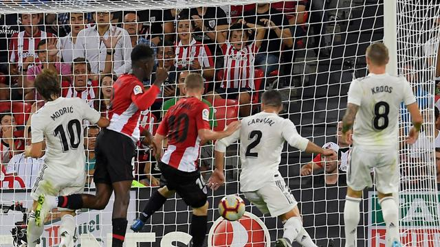 Il Real Madrid frena a Bilbao: 1-1 con l'Athletic, Blancos a -2 dal Barcellona