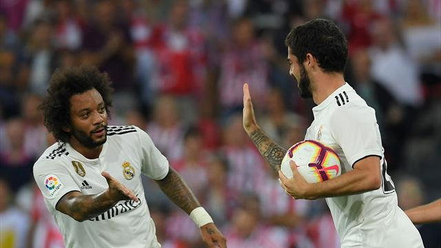 Isco rescues point for Real Madrid away to Athletic Bilbao