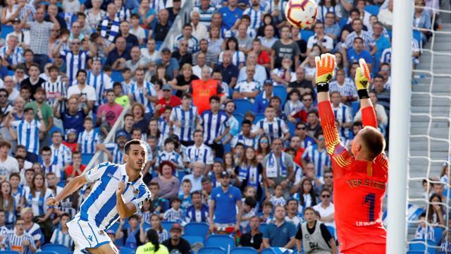 Ter Stegen führt Barca zum Sieg, Real verliert Punkte