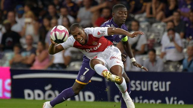 Monaco se contente d'un nul à Toulouse, Lille nouveau dauphin