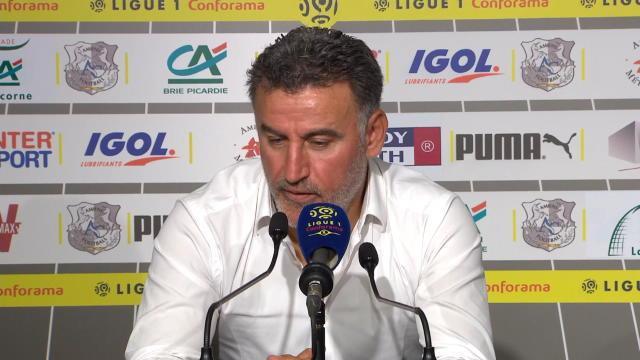 """1ère j. - Galtier : """"Paris est capable de faire un très bon résultat à Liverpool"""""""