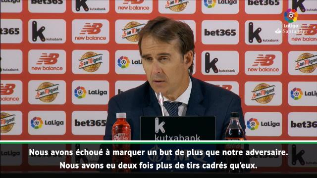 """Real Madrid - Lopetegui : """"Nous avons eu tellement d'occasions..."""""""