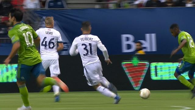 MLS: Vancouver Whitecaps FC-Seattle Sounders FC 1-2, gli highlights