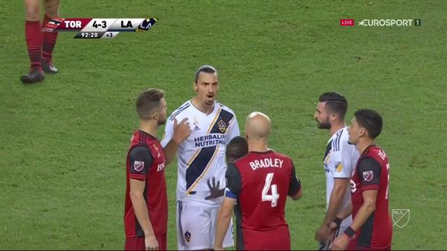 Efter lagkamratens tuffa tackling - Zlatan i nytt bråk