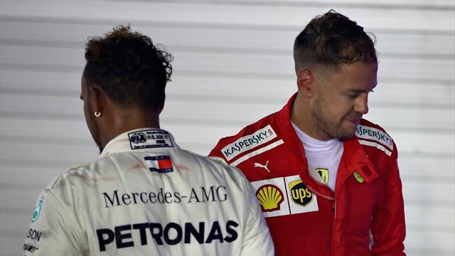 """Hamilton triumphiert, krachende Ohrfeige für Vettel: """"Waren wieder zu spät"""""""
