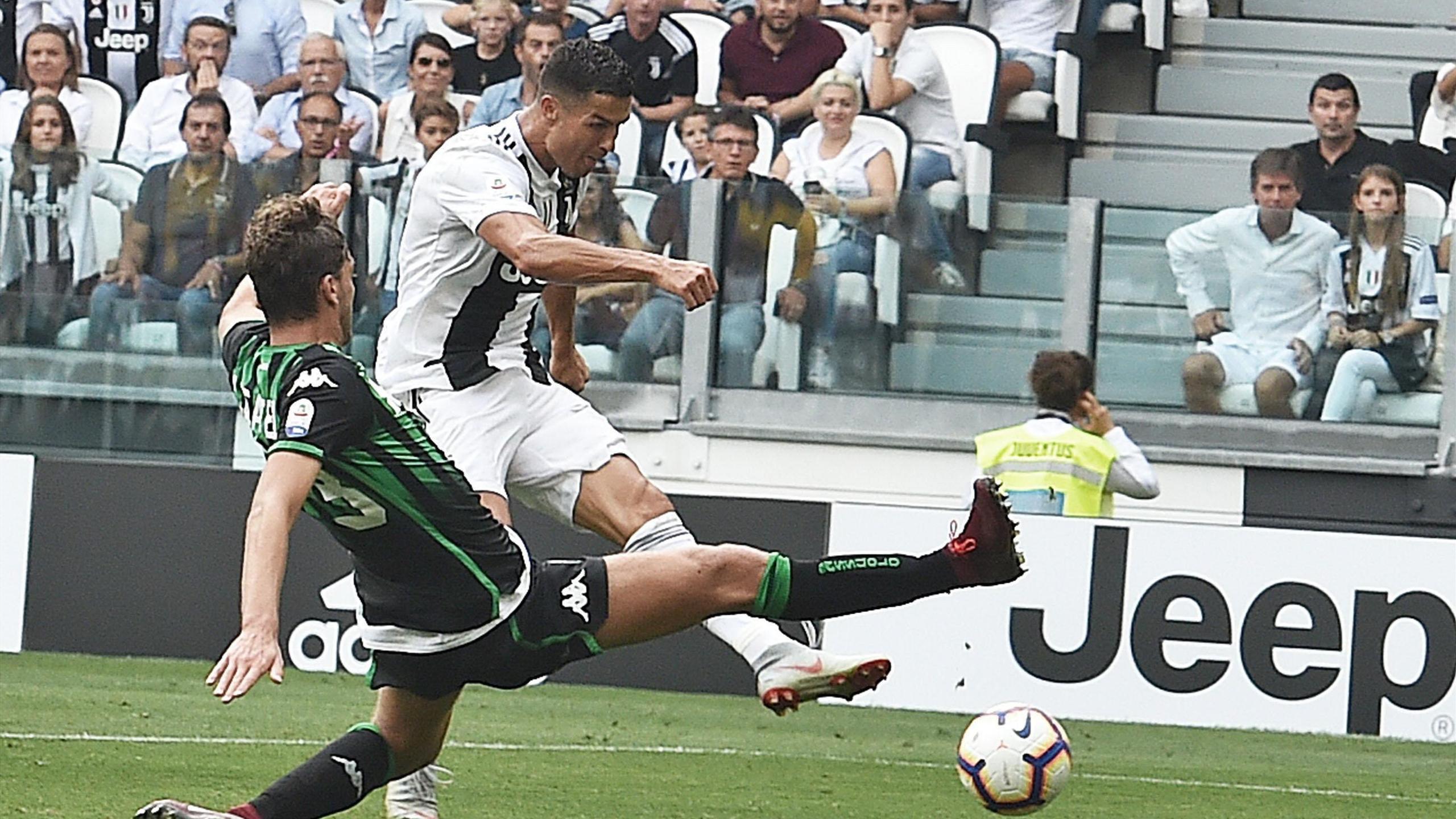 Las Im U00e1genes Del Primer Doblete De Cristiano Ronaldo Con