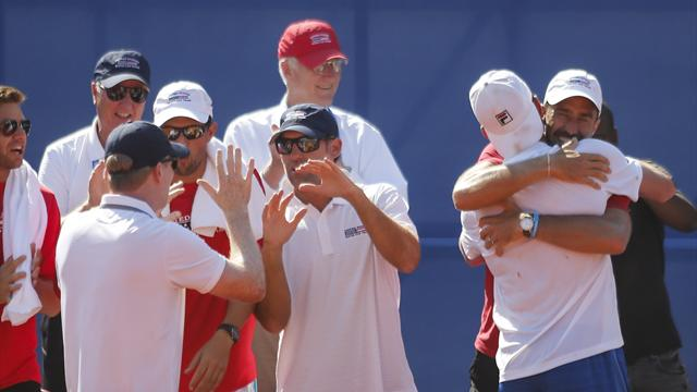Querrey fights back to beat Cilic keeps U.S. Davis Cup hopes alive