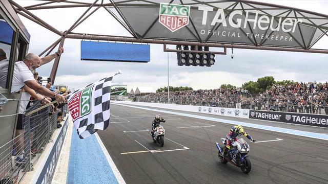 F.C.C. TSR Honda France wins Bol d'Or