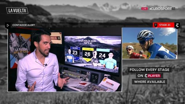 Contador en Eurosport: Alberto confirma que hay cambio de ciclo con Yates, Mas y Superman