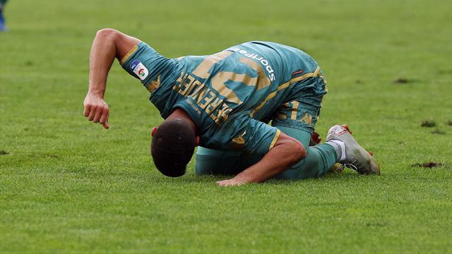 La moviola: Regolare il gol annullato a Berenguer, sacrosanta l'espulsione di Douglas Costa