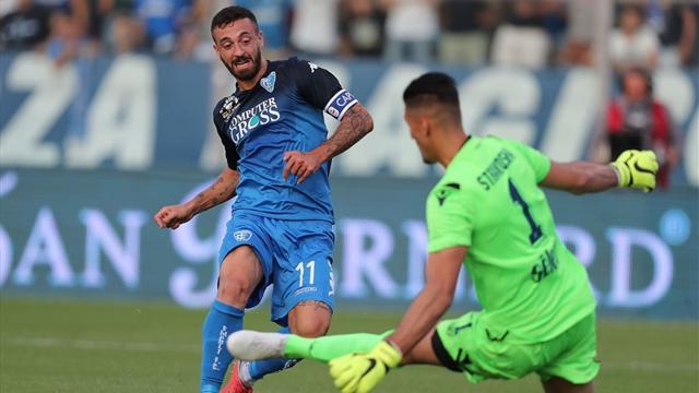 Le pagelle di Empoli-Lazio 0-1: Strakosha decisivo, così così Milinkovic
