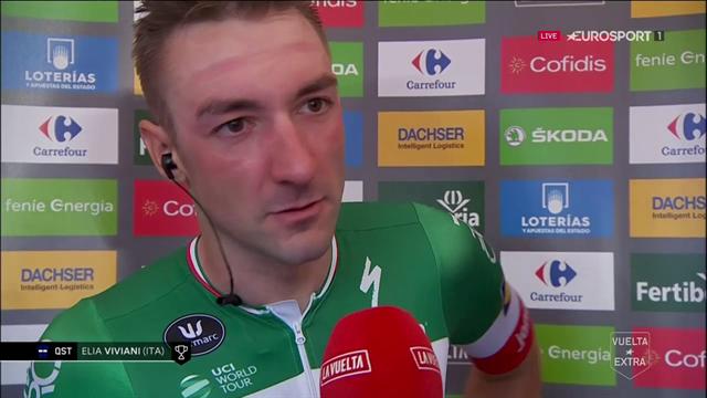 """Viviani: """"Laget ska vara stolta över hur vi genomfört Vueltan"""""""