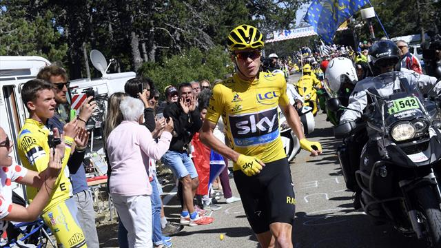 La tappa più pazza della storia del Tour: Froome come Forrest Gump sul Mont Ventoux