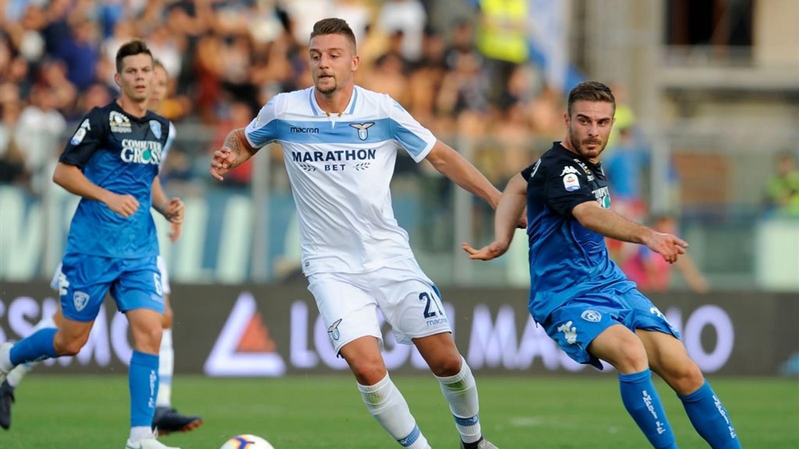 Lazio-Empoli: probabili formazioni e statistiche