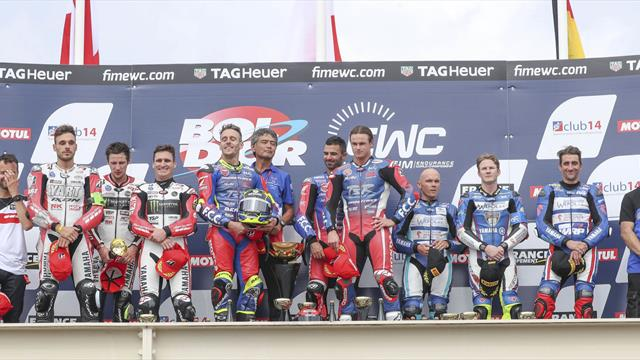 Bol d'Or final ranking and 2018-2019 FIM EWC standings