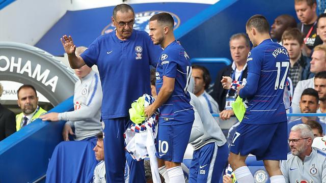 Sarri met Hazard au défi pour son nombre de buts cette saison