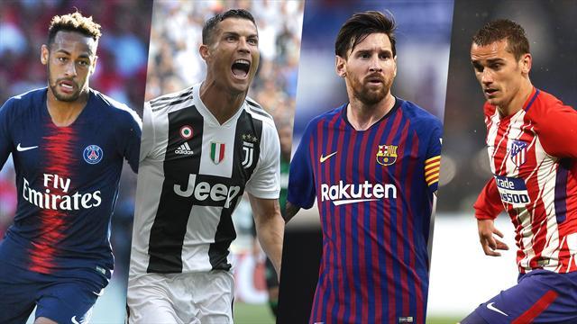 Real, Barça, Juventus, PSG ? Nos favoris pour la Ligue des champions